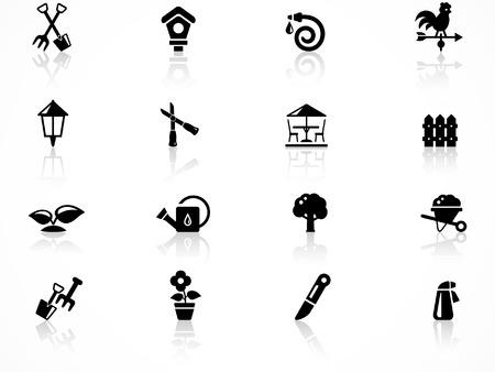 Gartenarbeit-symbol