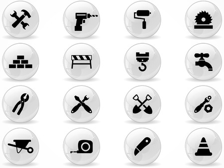 worktool: Web buttons, Construction symbol