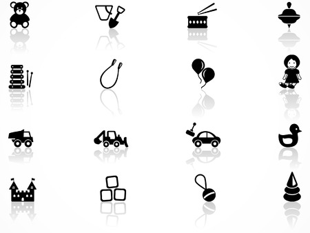 baby playing toy: Toys symbols