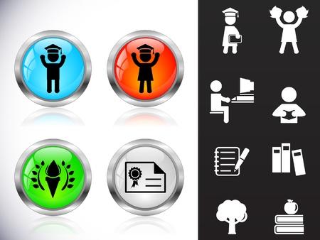 web cap: Web metal buttons