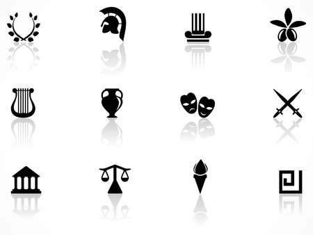 greece: Greece symbols Illustration