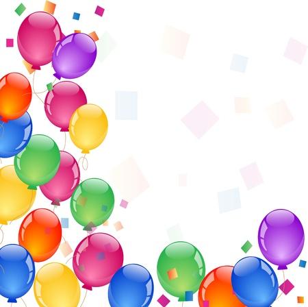 globos coloridos parte