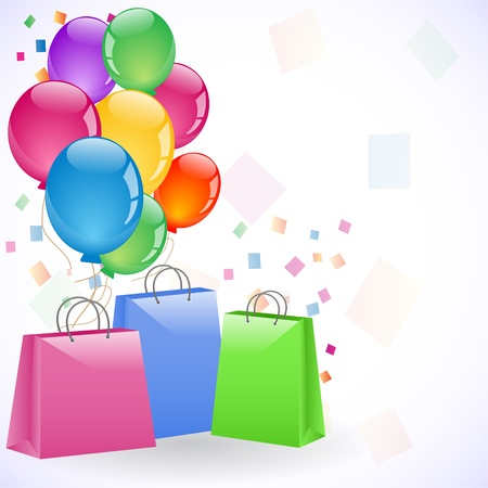 bags and balloons
