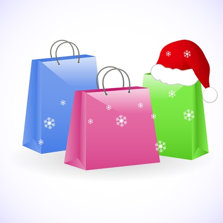 christmas bags Stock Vector - 10713322