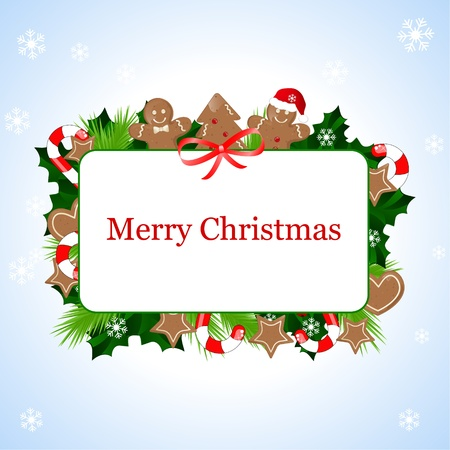 christmas frame Stock Vector - 10800954