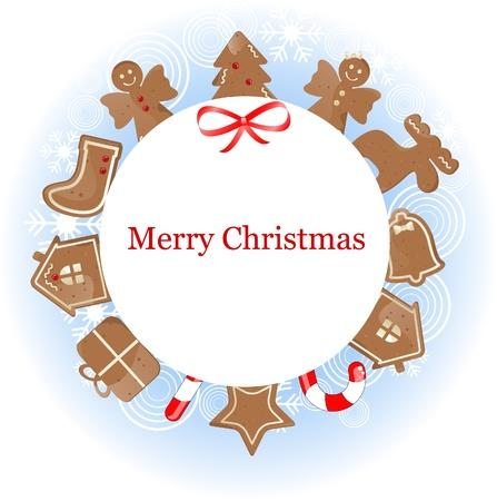 christmas frame Stock Vector - 10834207