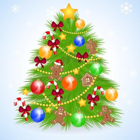 christmas tree Stock Vector - 10834227