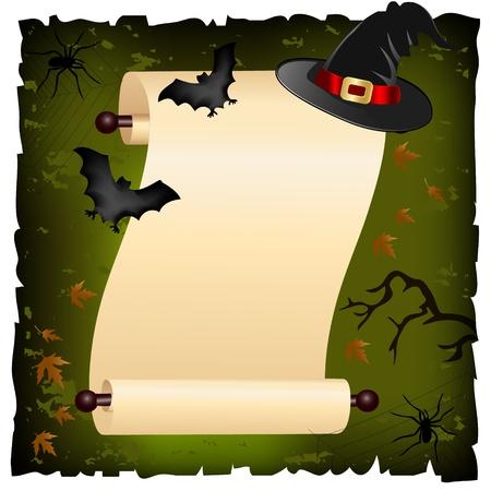 halloween invitation Vector