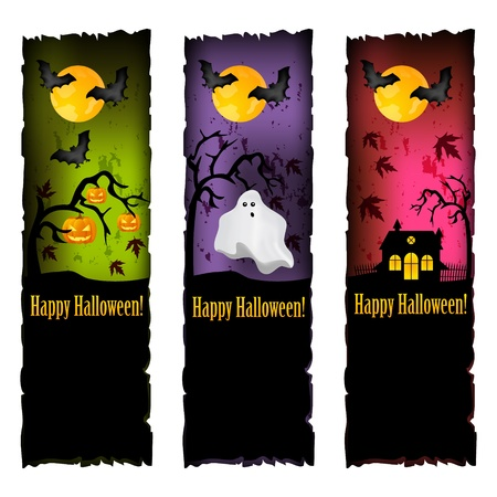 vertical banner: halloween banners