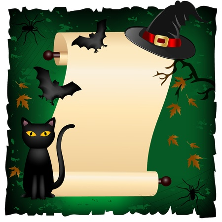 halloween invitation Stock Vector - 10985797