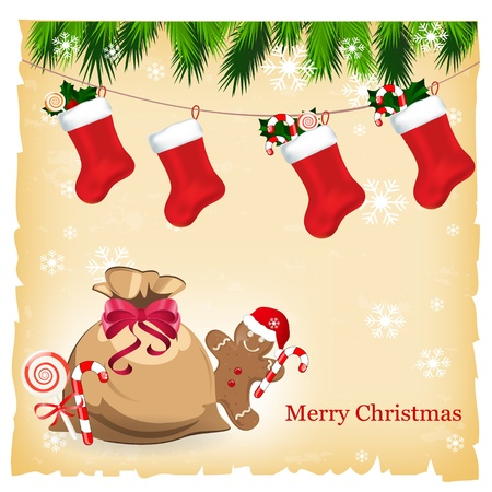 christmas card Stock Vector - 11057590