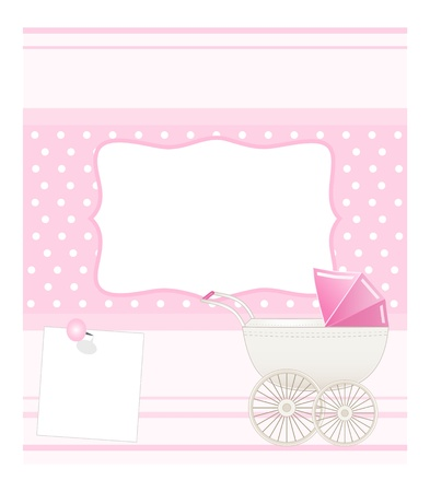 background baby: baby card