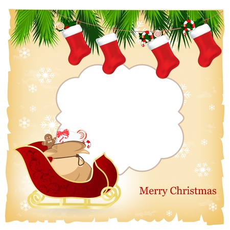 christmas card Stock Vector - 11195017