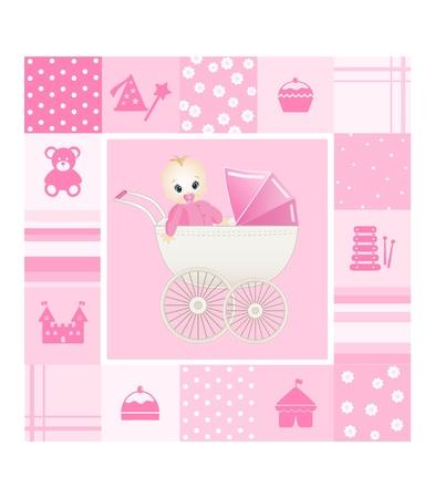 baby card Vector