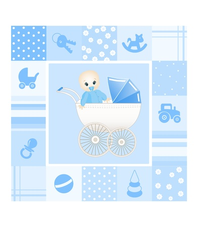 baby card Stock Vector - 11195047