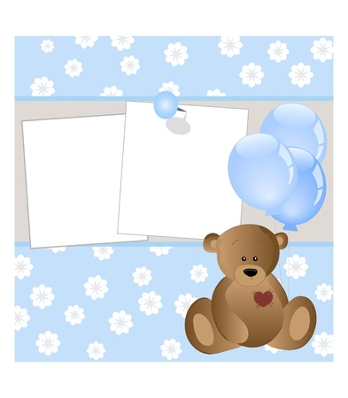 blankets: baby card