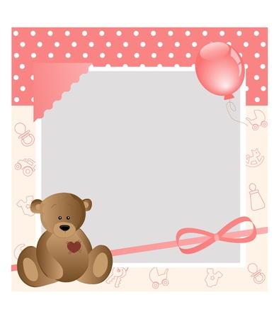 baby card Stock Vector - 11195058