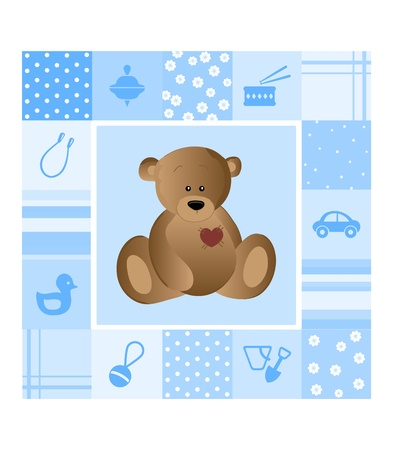 baby card Stock Vector - 11195060