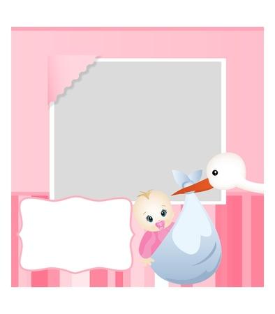 baby birthday: baby card