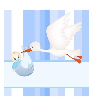 baby card Stock Vector - 11195072