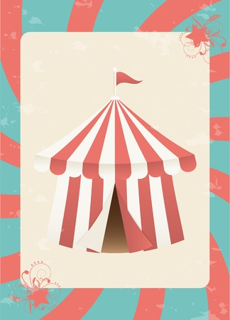 fondo de circo: Circo de fondo Vectores