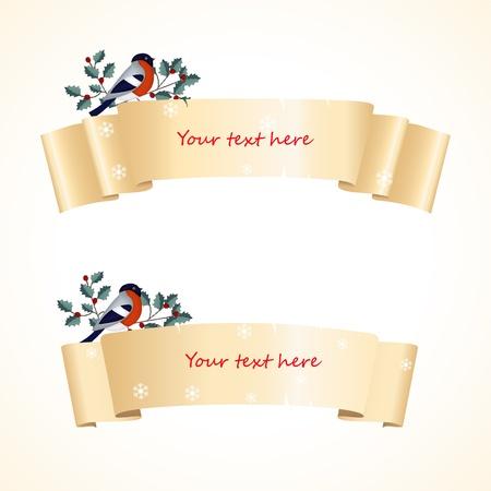 Christmas banners Stock Vector - 11553995