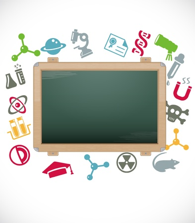 Blackboard Stock Vector - 11898492