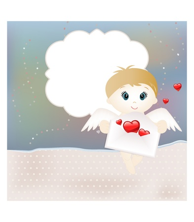 Valentine card Stock Vector - 12073047