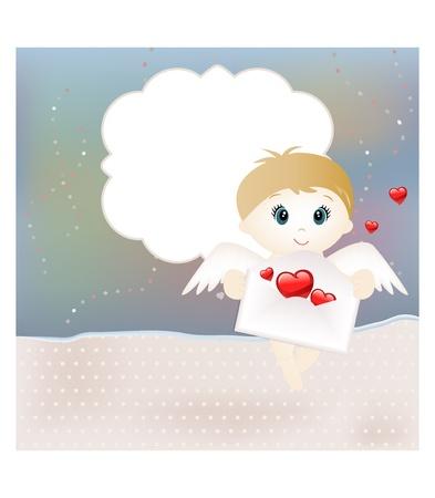 Valentine card Stock Vector - 12073047