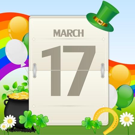 Saint Patrick Stock Vector - 12485634