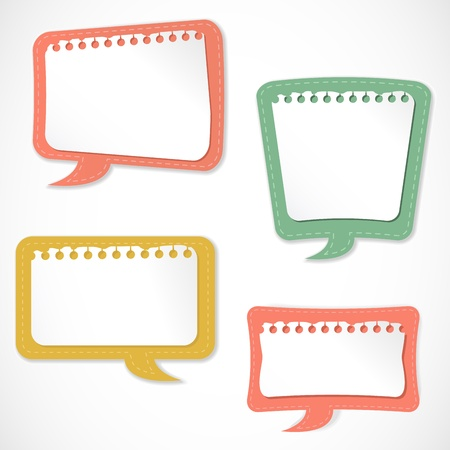 speech icon: Speech bubbles Illustration