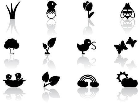 seedling: Spring icons