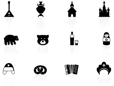 Russian icons Stock Vector - 12792076