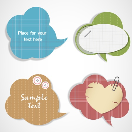 Bubbles for speech Illustration