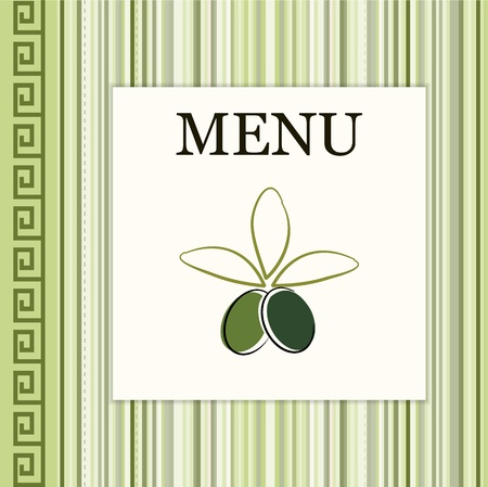 Menu card  Stock Vector - 13528030