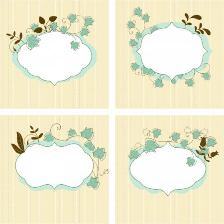 whimsy: Floral frames