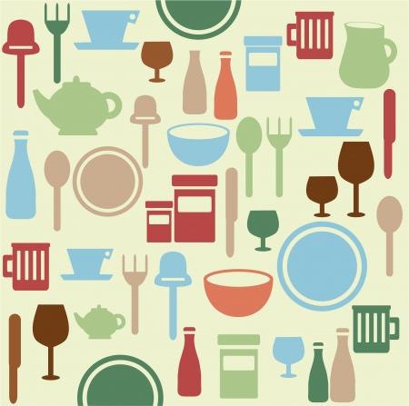 kitchen ware: Dining pattern
