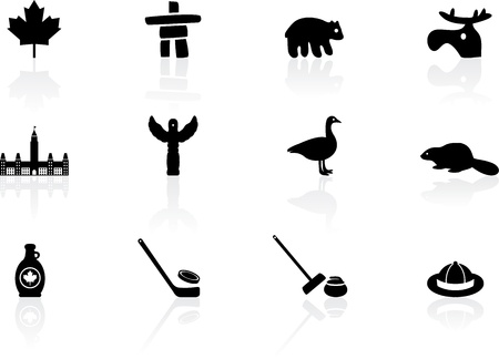 Canada symbols Vector