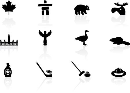 canada goose: Canada symbols
