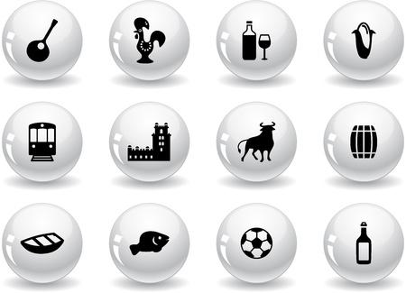 belem: Web buttons, portuguese icons