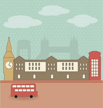 London Stock Vector - 14731013