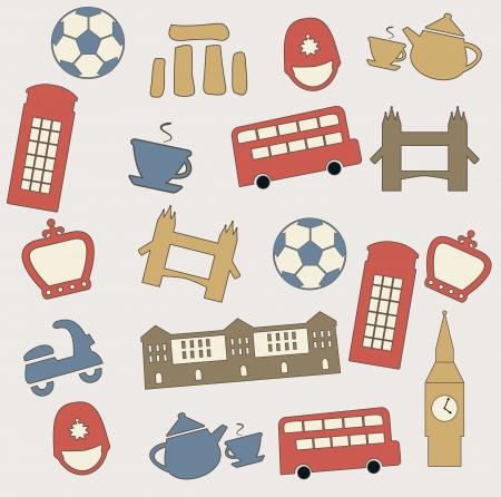 London pattern Stock Vector - 14731011