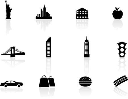 empire state building: New York symbols
