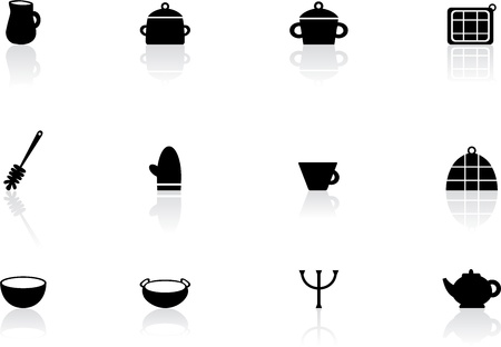 Kitchen symbols Stock Vector - 14801460