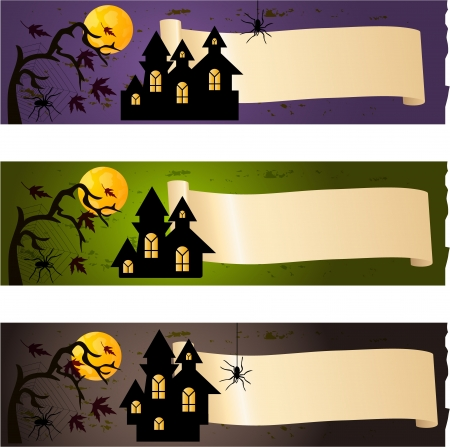 afterglow: Halloween banners