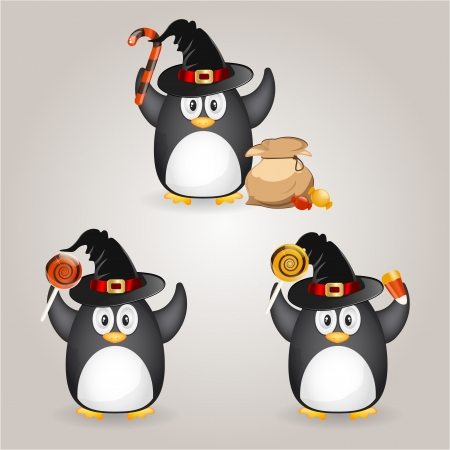 Halloween penguin Stock Vector - 15112051