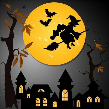 horror castle: Halloween de fondo