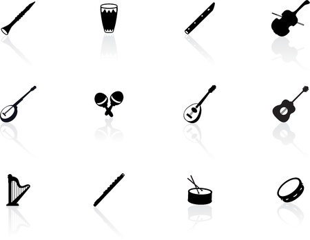 bongo drum: Musical instrument icons