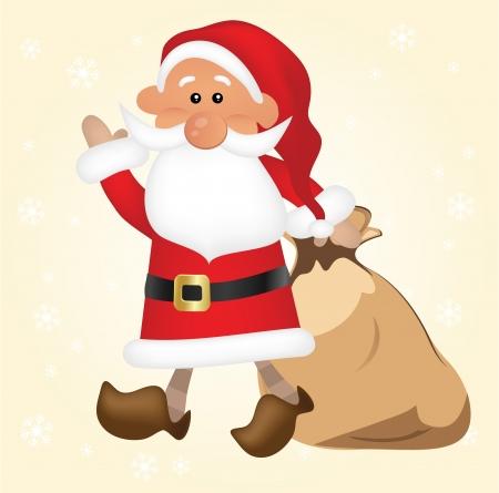 new year  s day: Santa Claus Illustration