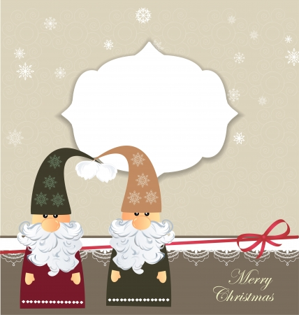 gnome: Christmas card